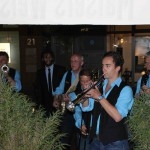 """""""Einzug"""" in's Bernay's mit der Bourbon Street Parade"""