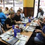 Bandfrühstück mit Freunden