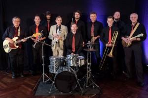 Konzert der Hot Jazz Stompers (Cloppenburg) mit Jazz-Trompeter Norbert Susemihl im Hotel Taphorn in Cloppenburg am 9. Juni 2017.