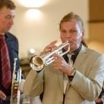 Konzert der Hot Jazz Stompers (Cloppenburg) mit Jazz-Trompeter Norbert Susemihl im Hotel Taphorn in Cloppenburg am 9. Juni 2017.Foto: © Tino Trubel / vec-foto.de